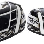 casco arai rebel checker 2013