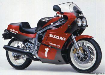 Suzuki GSX-R 750 R 1986