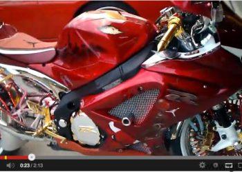 Suzuki GSX-R 1000 2007 tribute Michael Jordan
