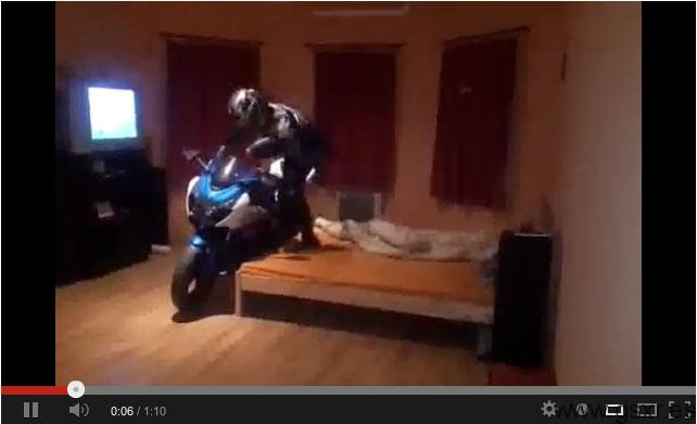 video suzuki gsxr 1000 2009 invierno
