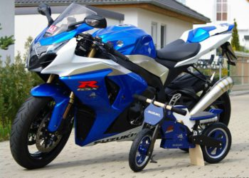 suzuki gsxr 1000 2009 kiddie moto