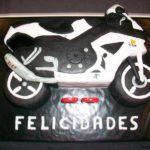 tarta cumpleaños moto suzuki gsxr