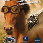Publicidad moto Suzuki GSX-R 1000 2013 Francia