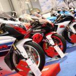 Stand Suzuki en Motodays 2013 - Suzuki GSX-R 2013