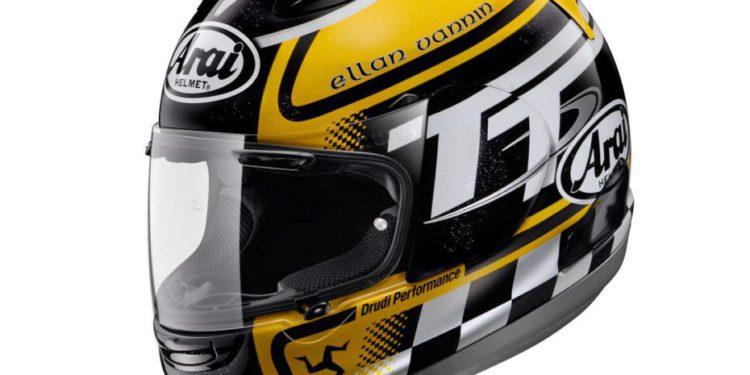 casco arai rx- -gp isle of man tt 2013 limited edition