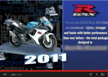 video moto suzuki gsxr evolucion