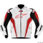 chaqueta moto piel alpinestars gp tech