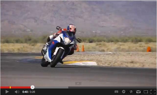 video prueba pista suzuki gsxr 750 2013