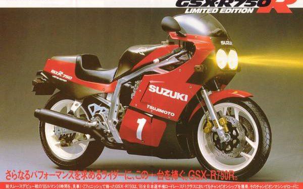 revistas anuncios motos suzuki gsxr