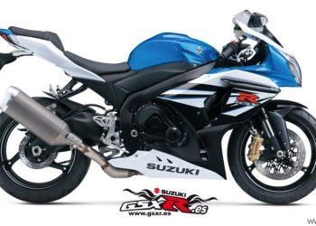 Suzuki GSX-R 1000 2014 Azul y Blanco