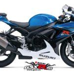 Suzuki GSX-R 600 2014 Azul y Blanco