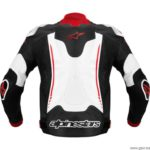 chaqueta moto alpinestars atem negro/blanco/rojo