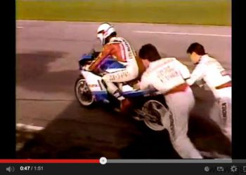 kevin schwantz daytona motorworld 1987 video