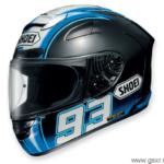 casco de moto shoei x-spirit II marc marquez montmeló