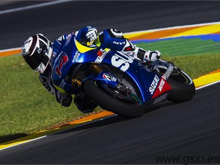 suzuki motogp valencia news video