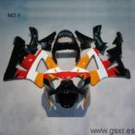 carenado abs de moto replica honda repsol