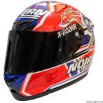 casco nolan x-802-rr carbon - casey stoner