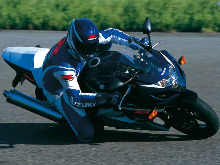 Suzuki GSX-R750 2004 Specifications