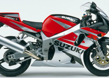 Suzuki GSX-R750 2002 Specifications