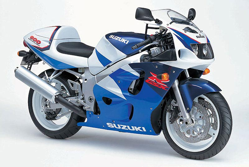 Suzuki GSXR 600 1997 service manual