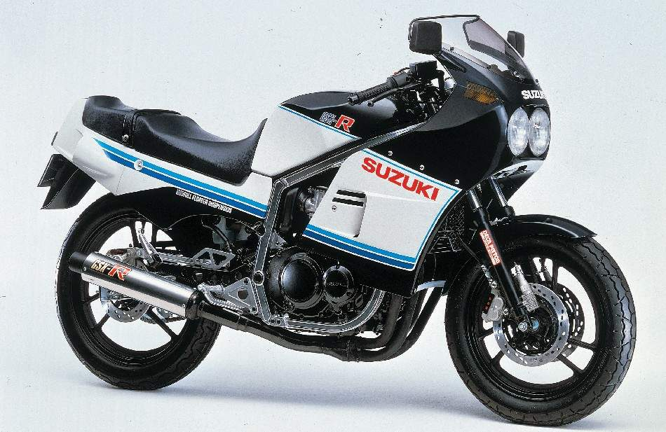 1985 Suzuki GSXR 400 service manual