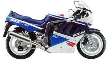1989 Suzuki GSXR 1100 service manual