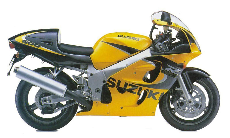 Suzuki GSX-R 600 1999 service manual