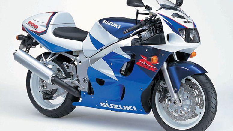 Suzuki GSXR 600 1997 service manual