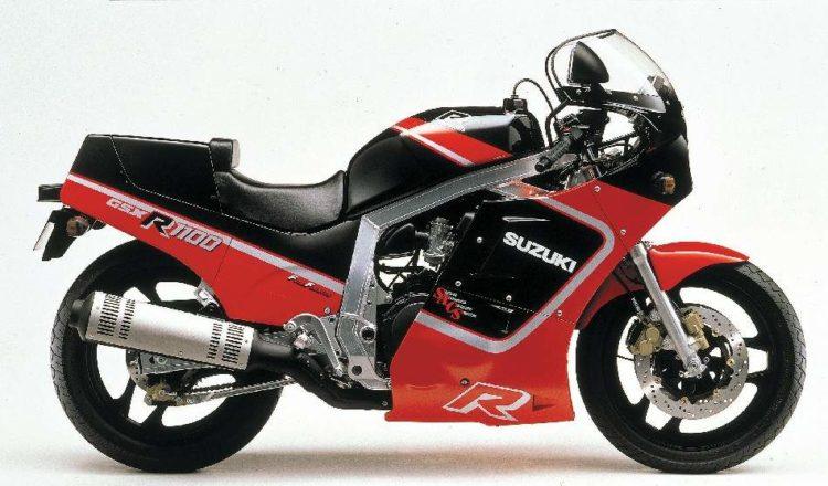 Suzuki GSX-R1100 1987 Specifications
