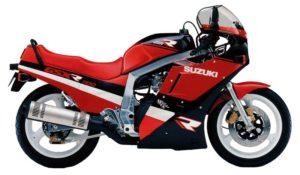 Suzuki GSX-R 1100 1988 datasheet