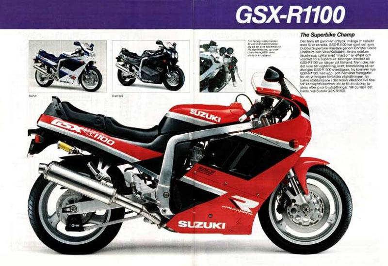suzuki gsx r 1100 1990 suzuki motorcycles news  information and specifications 1998 Suzuki Katana Suzuki Motorcycles 2013
