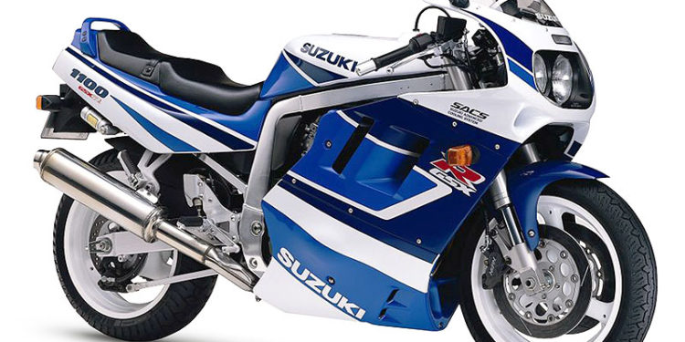 Suzuki GSX-R1100 1991 Specifications