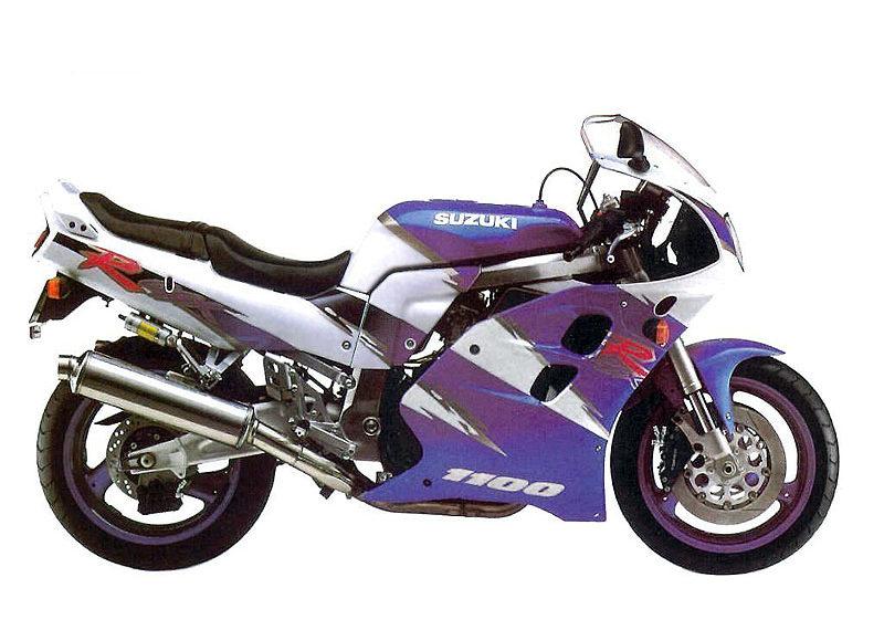 Suzuki GSX-R1100 1993 specifications