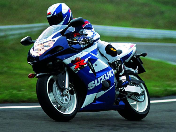 Suzuki GSX-R600 2002 Specifications