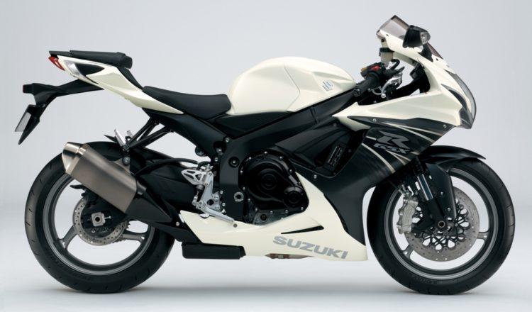 Suzuki GSX-R600 2012 Specifications