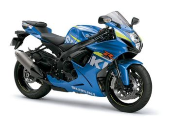 Suzuki GSX-R600 2015 Specifications