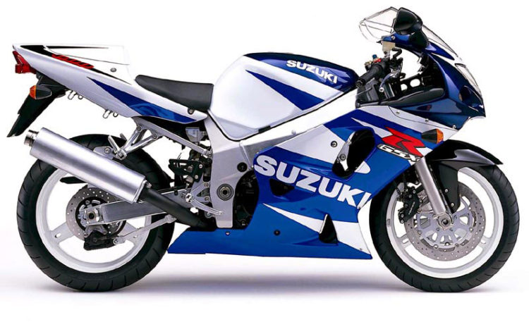 Suzuki GSX-R600 2001 Specifications