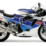 Suzuki GSX-R 750 1992 Version USA datasheet