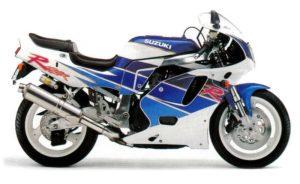 Suzuki GSX-R 750 1992 Version USA datasheet
