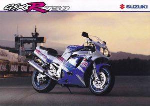 Suzuki GSX-R 750 1993 datasheet