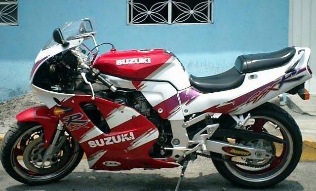 Suzuki GSX-R750 1993 Specifications