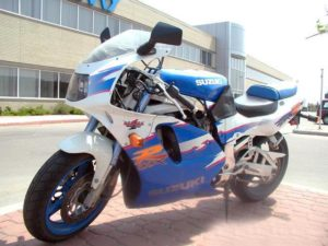 Suzuki GSX-R 750 1994 datasheet