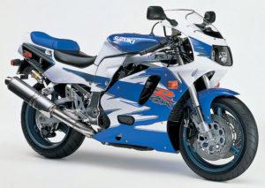 Suzuki GSX-R 750 1995 datasheet