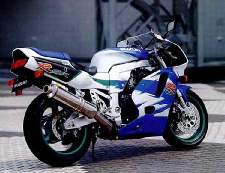 Suzuki GSX-R750 1995 Specifications