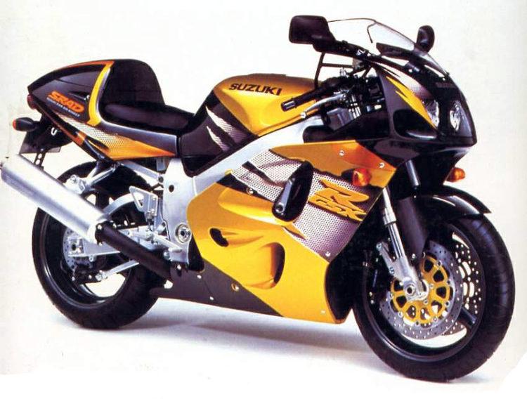 Suzuki GSX-R750 1996 Specifications