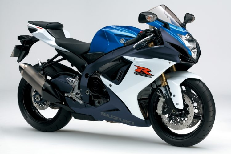 Suzuki GSX-R750 2012 Specifications