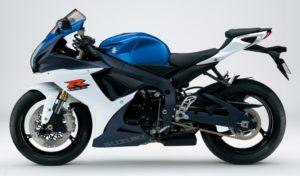 Suzuki GSX-R 750 2012 datasheet