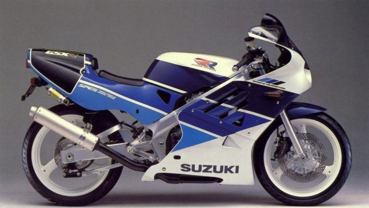 Suzuki GSX-R250 1989 Specifications