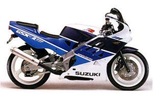 1989 Suzuki GSXR 250 datasheet
