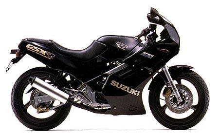 Suzuki GSX-R250 1990 Specifications